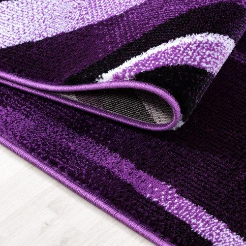 Parma Parma Design Vloerkleed Paars Laagpolig