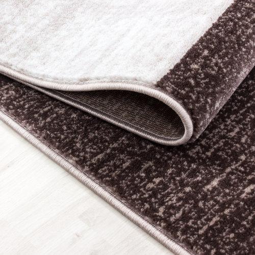 Parma Parma Design Vloerkleed Bruin / Beige Laagpolig