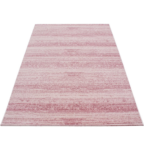 PLUS Plus Vloerkleed Roze Laagpolig