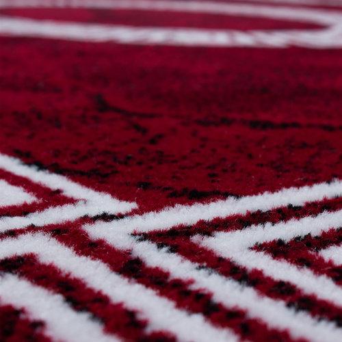 PLUS Plus Vloerkleed Rood Laagpolig