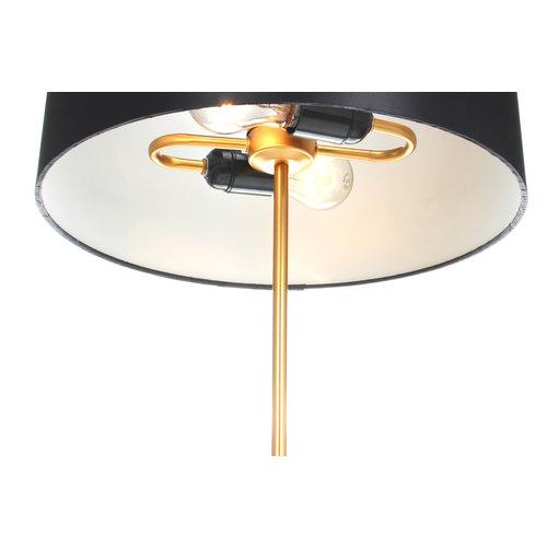 Kayoom Lighting Tafellamp Piona 110 Zwart / Goud / Wit