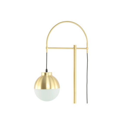 Kayoom Lighting Vloerlamp Lavina 125 Wit / Goud