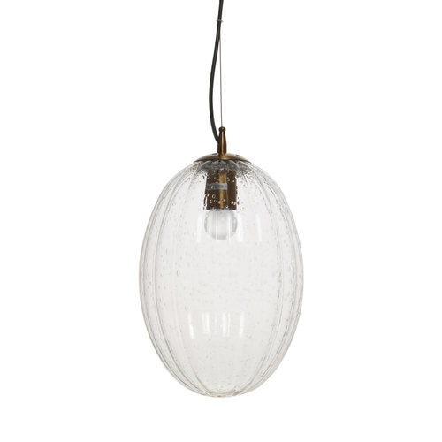 Kayoom Lighting Decoratieve hanglamp Retro - Glas