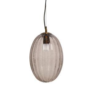 Kayoom Lighting Decoratieve hanglamp Retro - Glas - Grijs