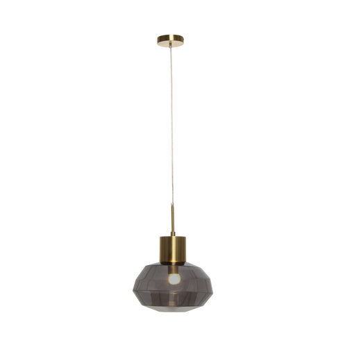 Kayoom Lighting Hanglamp Glas - Vince - Grijs
