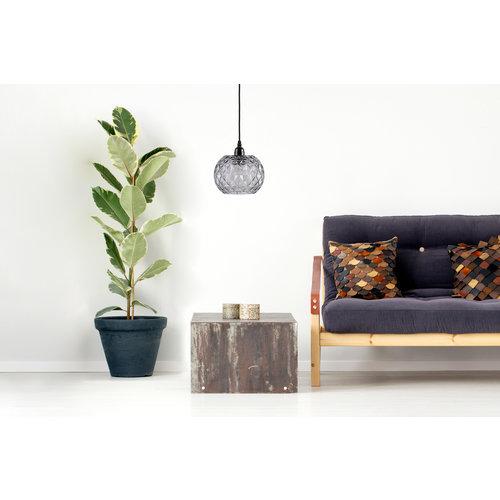 Kayoom Lighting Modern handgemaakt Glazen hanglamp - Helder
