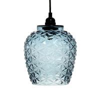 Vila Retro Hanglamp Glas Blauw