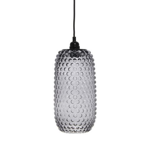 Kayoom Lighting Irina Retro Glas Hanglamp Grijs