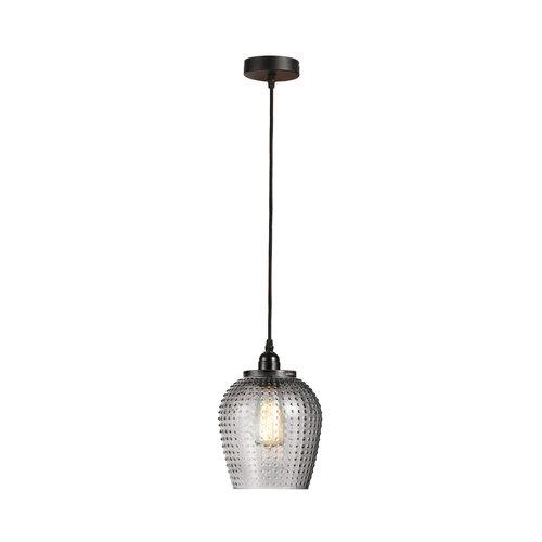Kayoom Lighting Riva Handgemaakt Hanglamp Glas Grijs