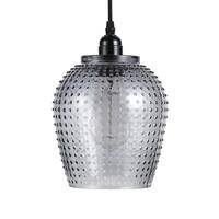 Riva Handgemaakt Hanglamp Glas Grijs