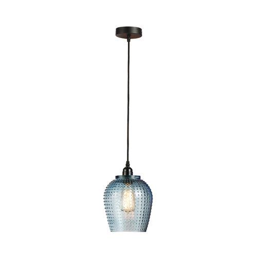 Kayoom Lighting Riva Handgemaakt Hanglamp Glas Blauw