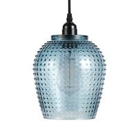 Riva Handgemaakt Hanglamp Glas Blauw
