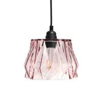 Aurea Handgemaakt Hanglamp Glas Roze