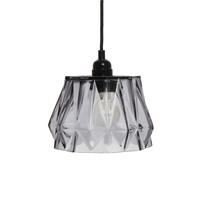 Aurea Handgemaakt Hanglamp Glas Grijs
