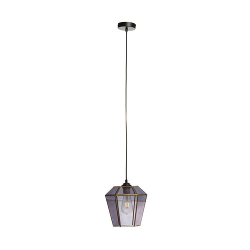 Kayoom Lighting Hanglamp Retro Terias Grijs / Paars