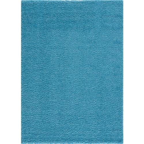 Loca Impression Shaggy Vloerkleed Turquoise Hoogpolig