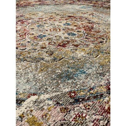 Picasso Picasso Keshan Vintage Vloerkleed Multi / Beige Laagpolig