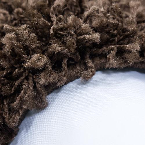 Himalaya Himalaya Basic Shaggy vloerkleed Bruin Hoogpolig