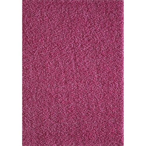 Loca Impression Shaggy Vloerkleed Roze Hoogpolig