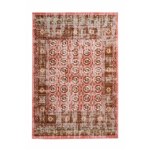Ariya Ariya Vintage-look vloerkleed Rood / Multi
