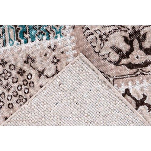 Ariya Ariya Patchwork design vloerkleed  Taupe