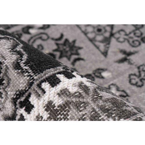 Ariya Ariya Patchwork design vloerkleed Grijs