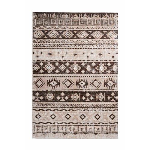 Ariya Ariya Kelim design vloerkleed Taupe