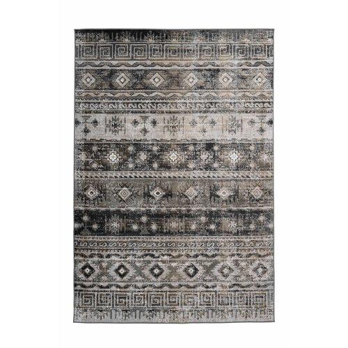 Ariya Ariya Kelim design vloerkleed Grijs