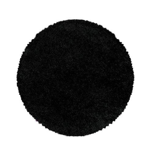 SYDNEY SHAGGY Himalaya Monaco Soft Rond Shaggy Hoogpolig Vloerkleed Black