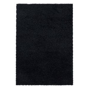 SYDNEY SHAGGY Himalaya Monaco Soft Shaggy Hoogpolig Vloerkleed Black