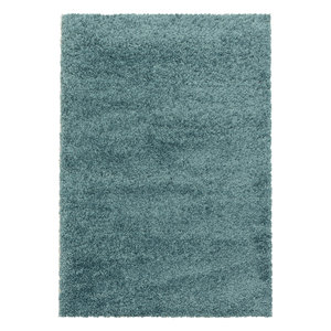 SYDNEY SHAGGY Himalaya Monaco Soft Shaggy Hoogpolig Vloerkleed Blauw / Turquoise