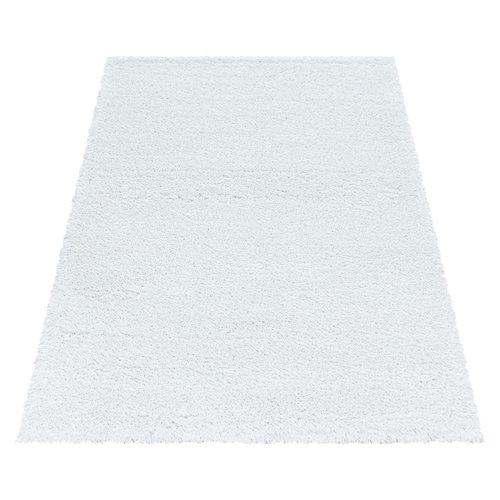 FLUFFY SHAGGY Himalaya Pearl Soft Hoogpolig Vloerkleed Wit