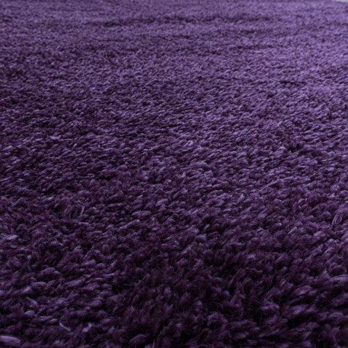FLUFFY SHAGGY Himalaya Pearl Soft Hoogpolig Vloerkleed Paars / Lila