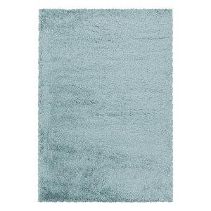 FLUFFY SHAGGY Himalaya Pearl Soft Shaggy Hoogpolig Vloerkleed Blauw