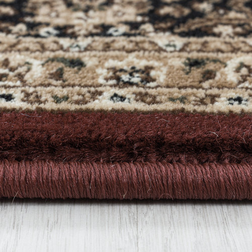 KASHMIR Impression Tehran Oosters Klassiek Laagpolig Vloerkleed Rood
