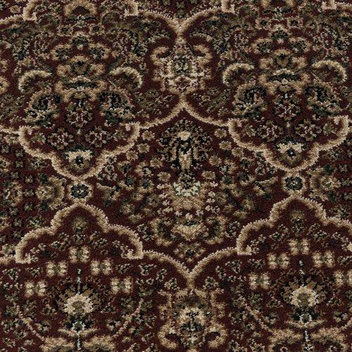 KASHMIR Impression Tabriz Oosters Klassiek Laagpolig Vloerkleed Rood