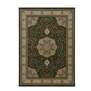KASHMIR Impression Isfahan Oosters Klassiek Laagpolig Vloerkleed Groen