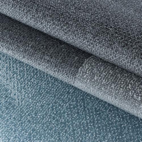 EFOR Impression Mynes Modern Laagpolig Vloerkleed Blauw / Grijs