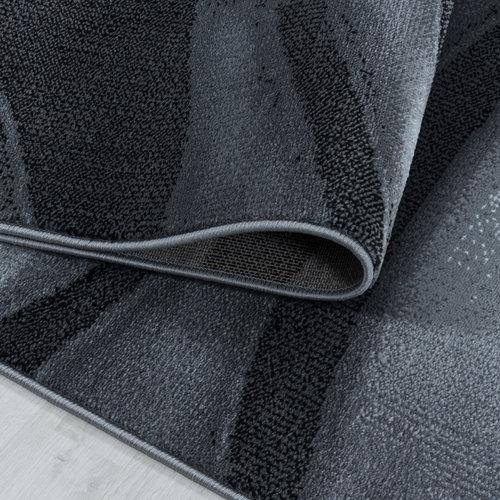 COSTA Impression Wave Design Laagpolig Vloerkleed Zwart