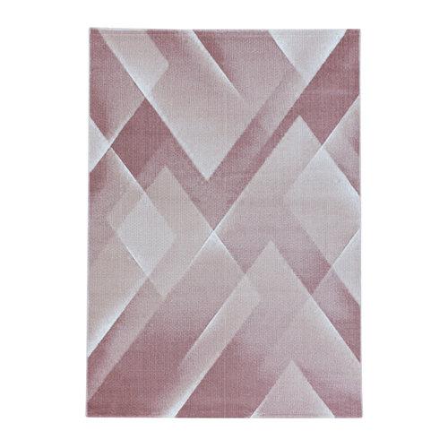 COSTA Impression Pera Design Laagpolig Vloerkleed Roze