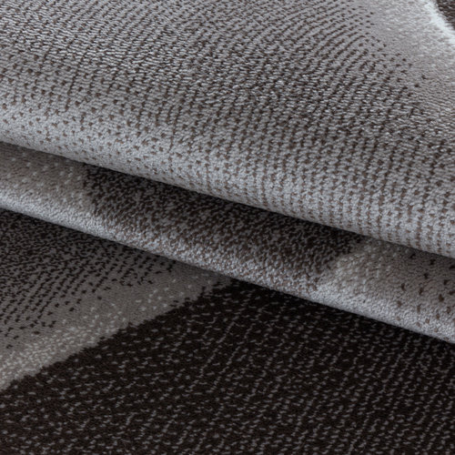 COSTA Impression Pera Design Laagpolig Vloerkleed Bruin