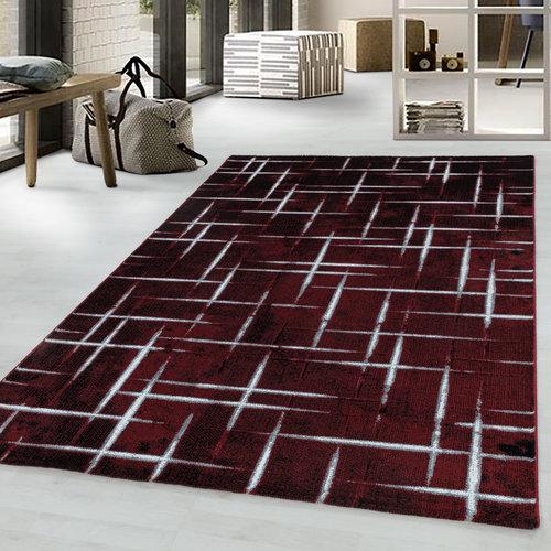 COSTA Impression Trend Design Laagpolig Vloerkleed Rood