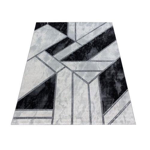 NAXOS Impression Premium Design Laagpolig Vloerkleed Grijs Zilver