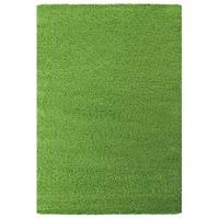 Himalaya Shaggy Hoogpolig Deluxe Vloerkleed Groen