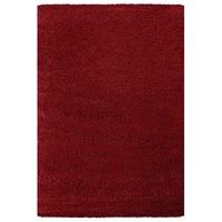 Himalaya Shaggy Hoogpolig Deluxe Vloerkleed Rood