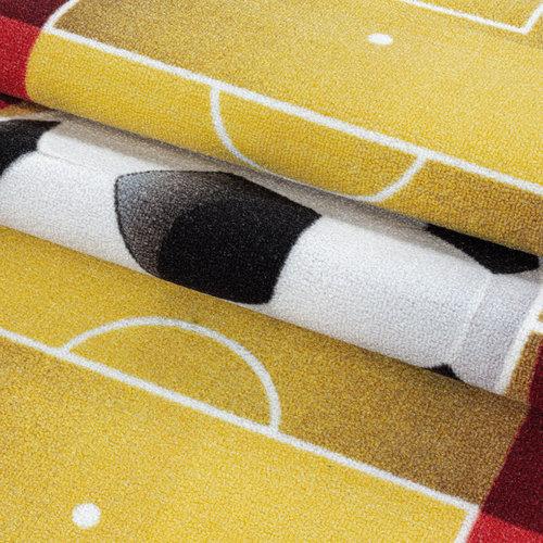 PLAY Kinderkamer Vloerkleed Voetbal Spanje Laagpolig