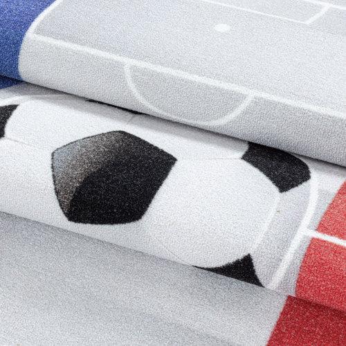PLAY Kinderkamer Vloerkleed Voetbal Nederland Laagpolig