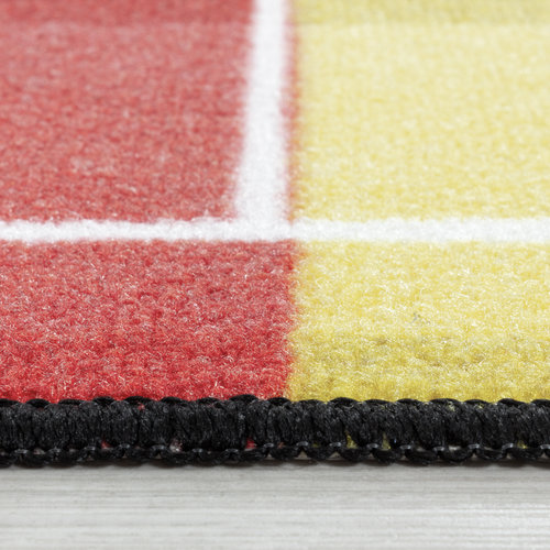 PLAY Kinderkamer Vloerkleed Voetbal Duitsland Laagpolig