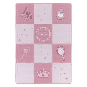 PLAY Kinderkamer Vloerkleed Little Princess Laagpolig Roze