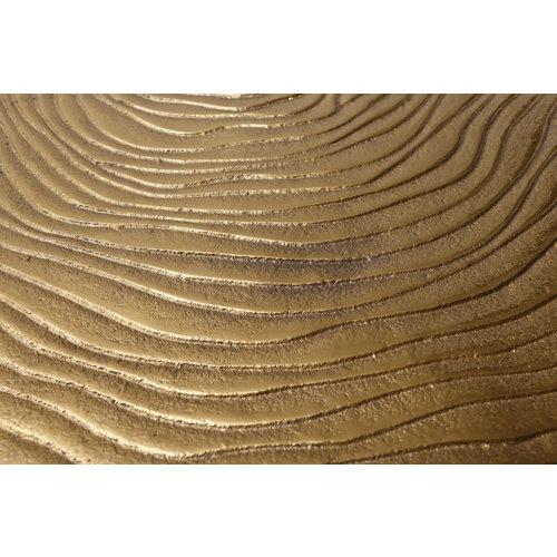 Woodstock Bijzettafel Wood Art 225 Goud Metaal